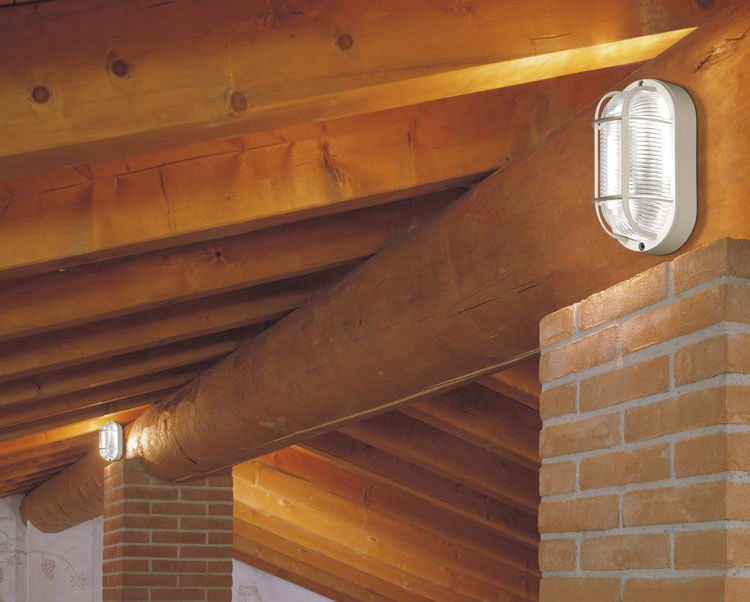 Plafoniera Da Esterno Tartaruga : Applique moderna da esterno in vetro alluminio