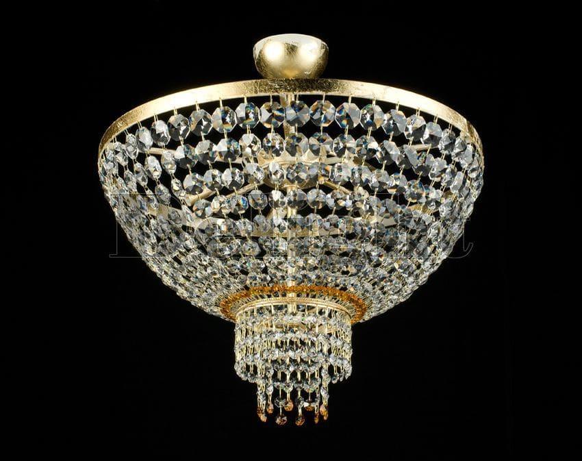 Plafoniera Rettangolare Cristallo : Plafoniera moderna in cristallo alogena da interno 2270