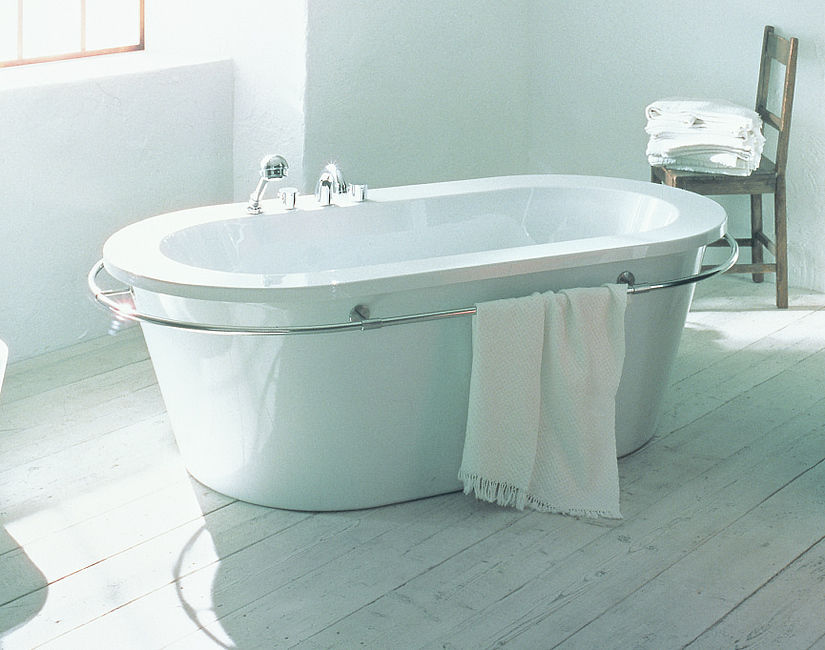Hoesch Vasche Da Bagno Prezzi : Vasca da bagno da appoggio ovale in acrilico di philippe