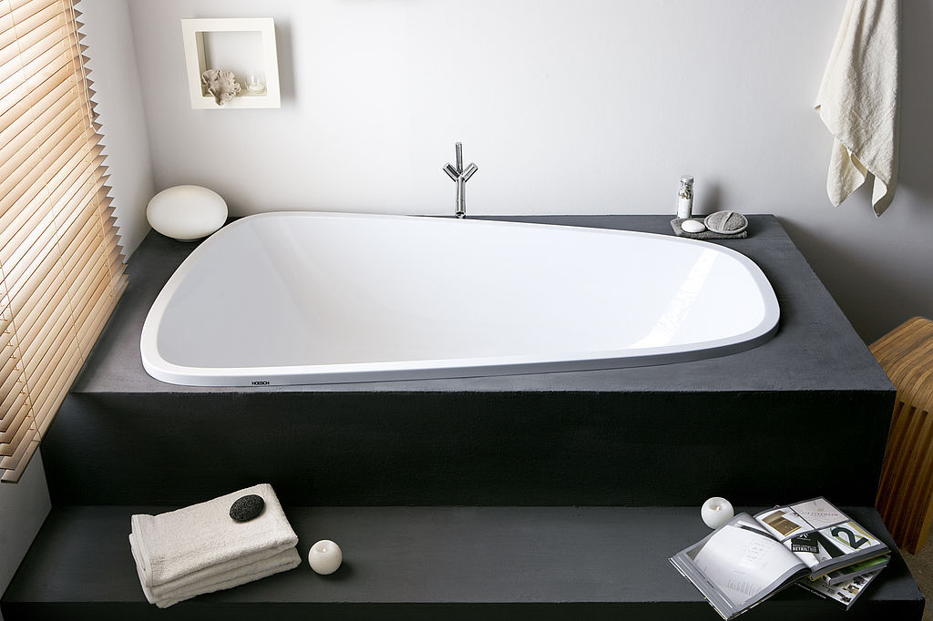 Vasca Da Bagno Hoesch : Vasca da bagno in legno in acrilico doppia singlebath: 3688 by
