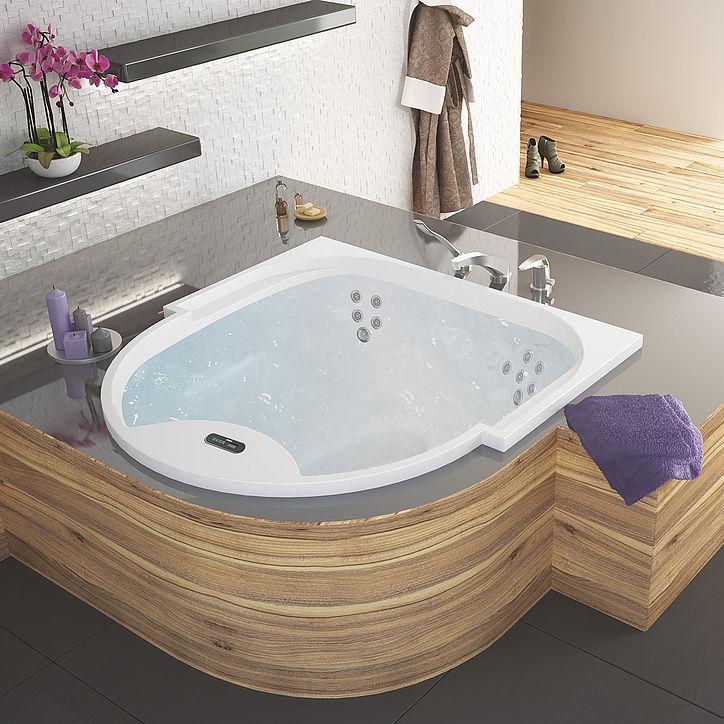 Hoesch Vasche Da Bagno Prezzi : Vasca da bagno in acrilico medica posti idromassaggio