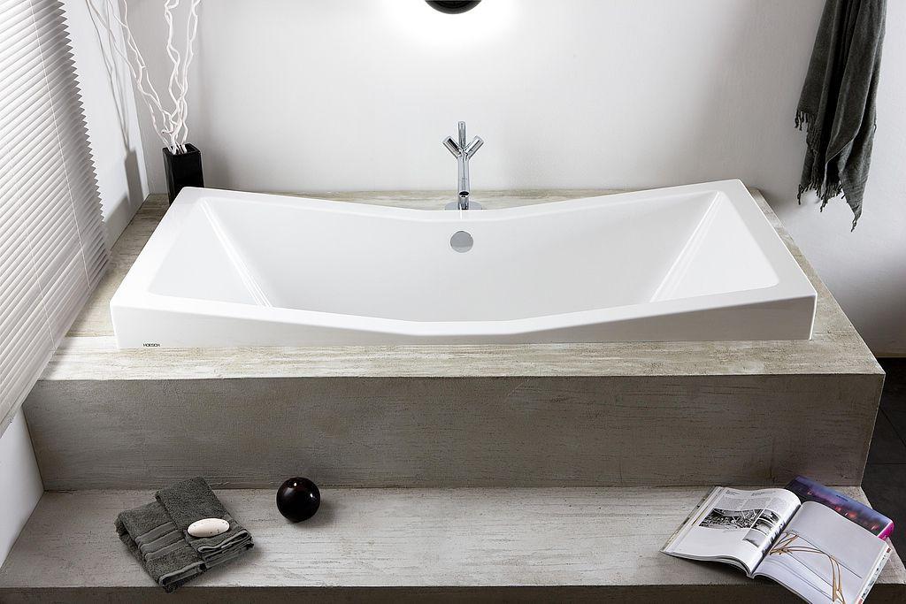 Vasca Da Bagno Di Zinco : Vasca da bagno in acrilico doppia foster by norman