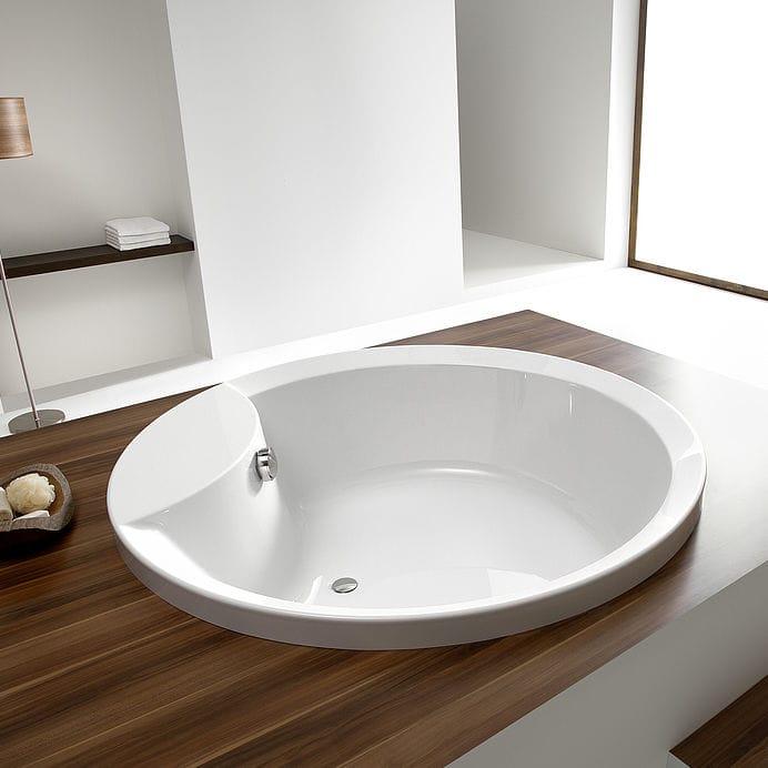 Vasca da bagno rotonda / in acrilico - ORLANDO: 6017 by Adolf ...