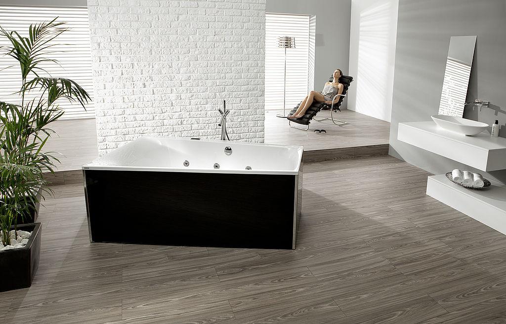 Vasca Da Bagno Trapezoidale : Vasca da bagno da appoggio in acrilico thasos: 3745 hoesch
