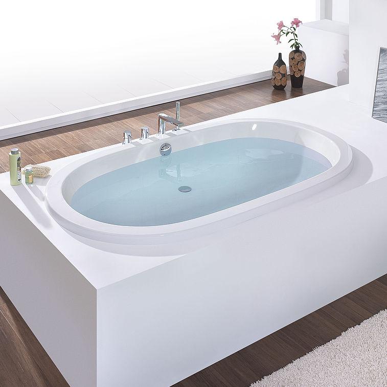 Hoesch Vasche Da Bagno Prezzi : Vasca da bagno ovale in acrilico waikiki by adolf babel