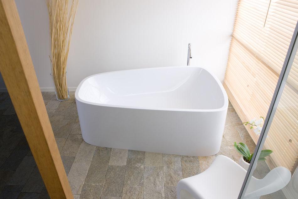 Vasca Da Bagno Hoesch : Vasca da bagno da appoggio in acrilico doppia singlebath: 3698