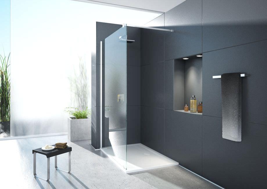 Parete doccia fissa / d'angolo / in vetro   one&one: 5746   hoesch ...