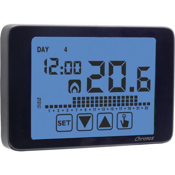 Schema Collegamento Orologio Vemer : Termostato programmabile digitale a muro per riscaldamento