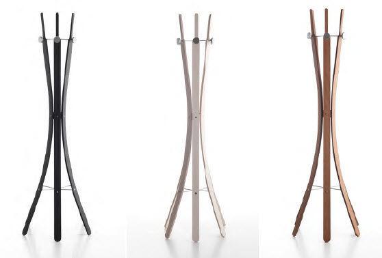 Appendiabiti da terra / design originale / in legno - ISAK by Enzo ...