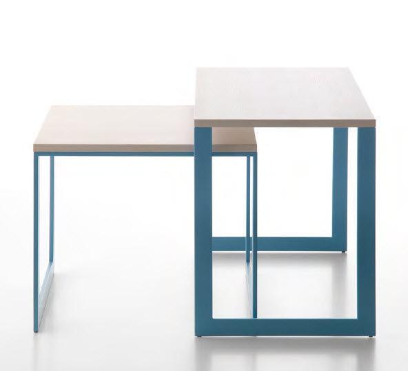 Tavolo estraibile / quadrato / da interno / moderno   stand up by ...