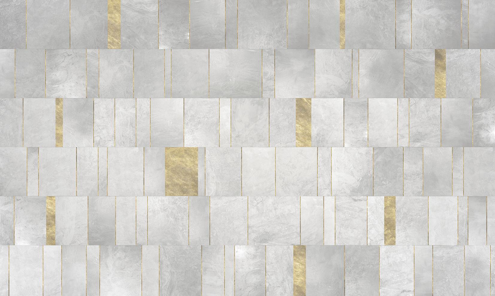 Carta da parati moderna in tessuto non tessuto a quadretti