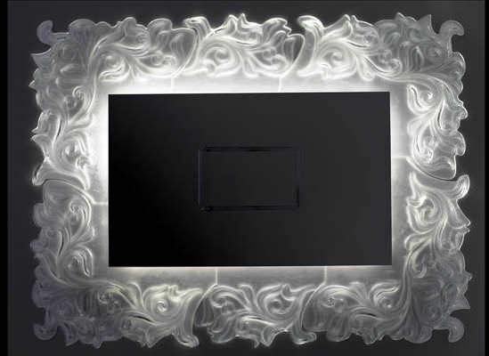 Specchio a muro / barocco / rettangolare / ingranditore ...