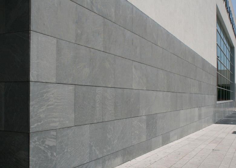 Conosciuto Rivestimento di facciata in pietra naturale / testurizzato / in  IS89
