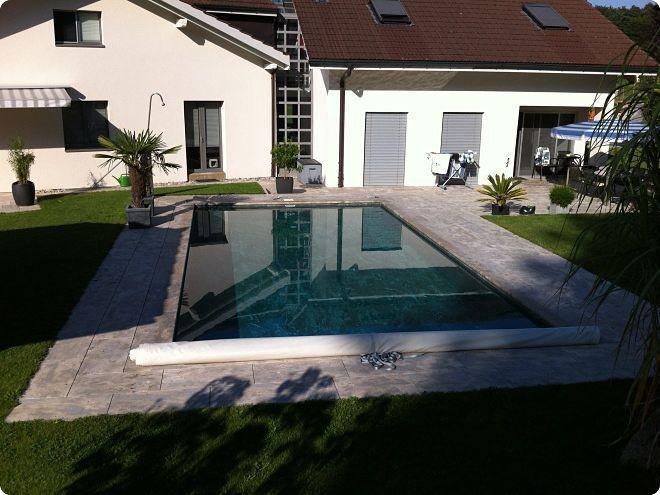 Pietra Verde Rivestimento : Piastrella per bagnasciuga di piscina da pavimento in pietra