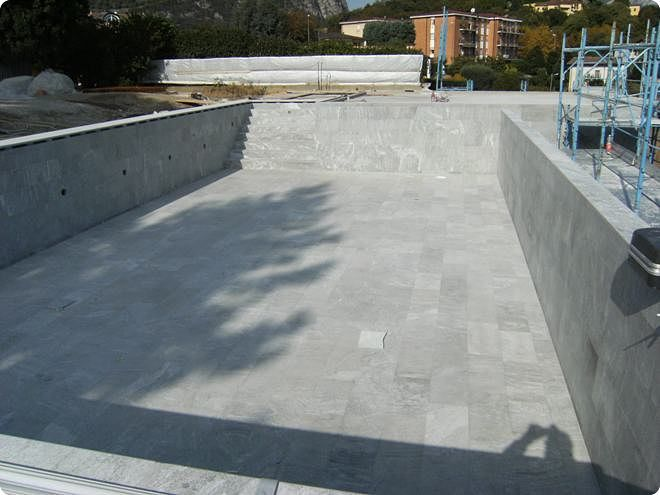 Piastrelle Per Rivestimento Piscina : Piastrella per piscina da pavimento da parete in pietra