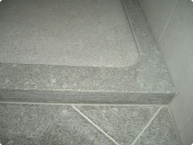abbastanza Piatto doccia quadrato / in quarzite - SOGLIO QUARZIT - GRANITI CONRAD LG59
