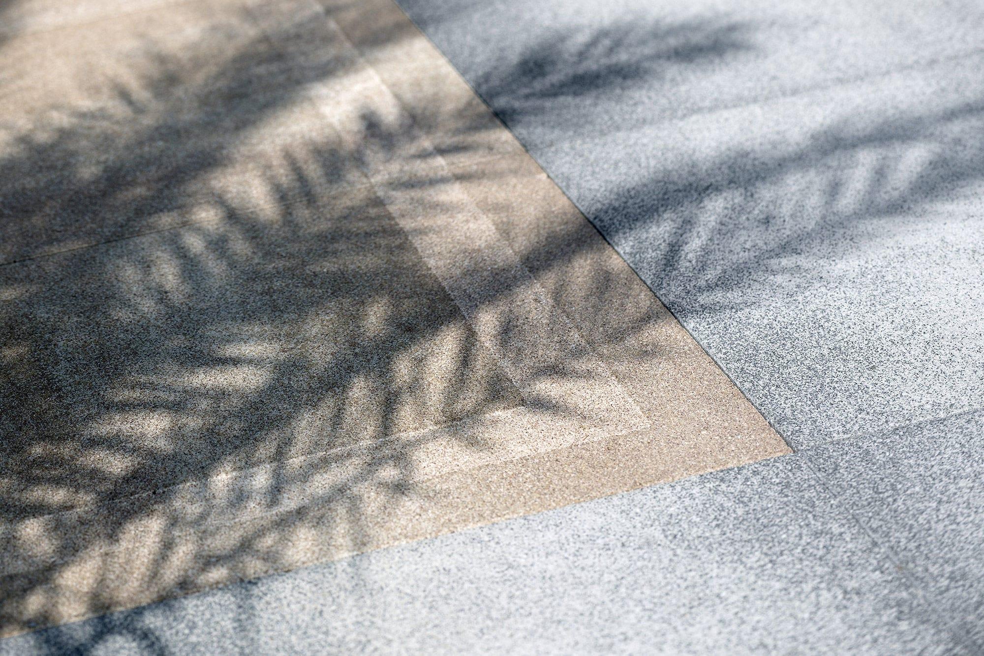 Piastrella da esterno da pavimento in calcestruzzo levigata