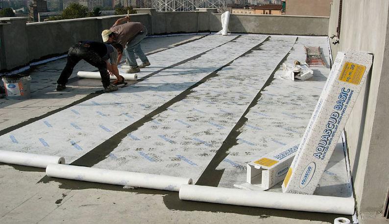 Sistema impermeabilizzante per balcone / per isolamento a cappotto ...
