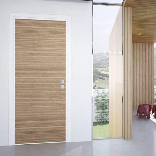 porta interna / battente / in legno / di sicurezza - florence ... - Porte In Legno Di Design Di Alta Sicurezza