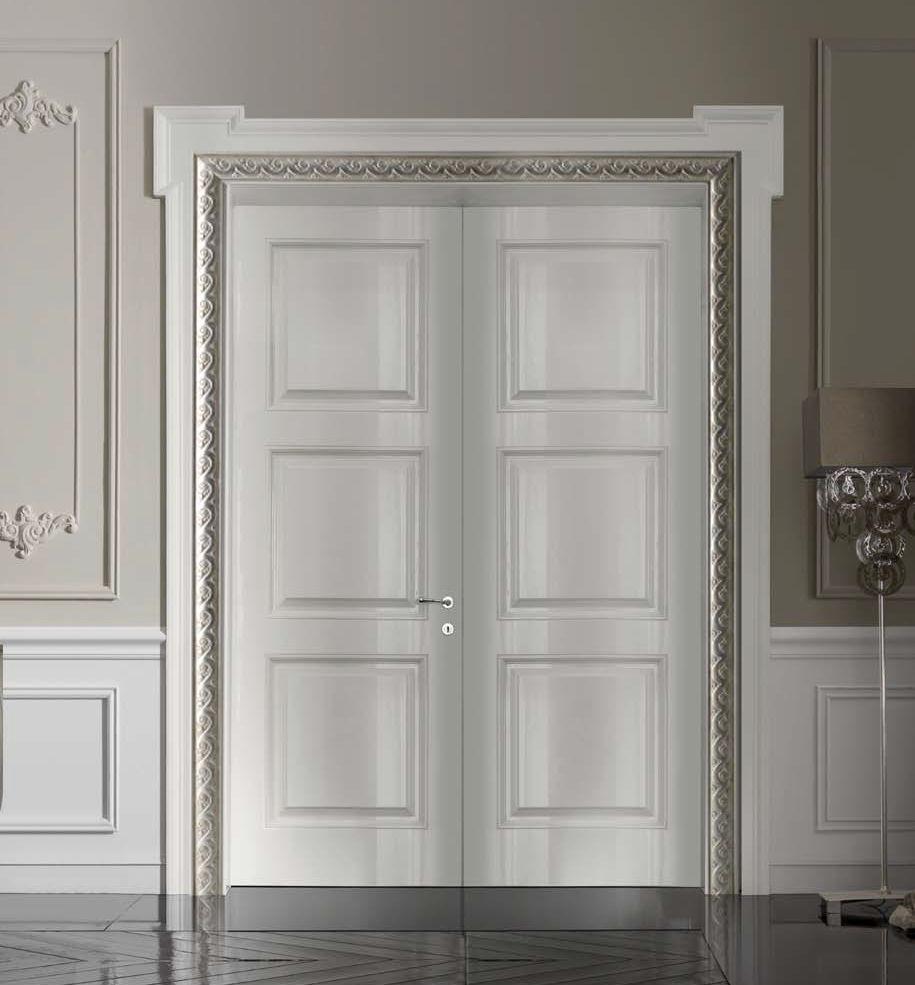 Porta da interni / battente / scorrevole / in legno massiccio - 800 ...