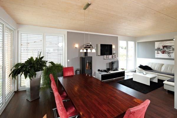 Soffitto In Legno Lamellare : Lastra per solaio in legno lamellare per soffitto holzwerk