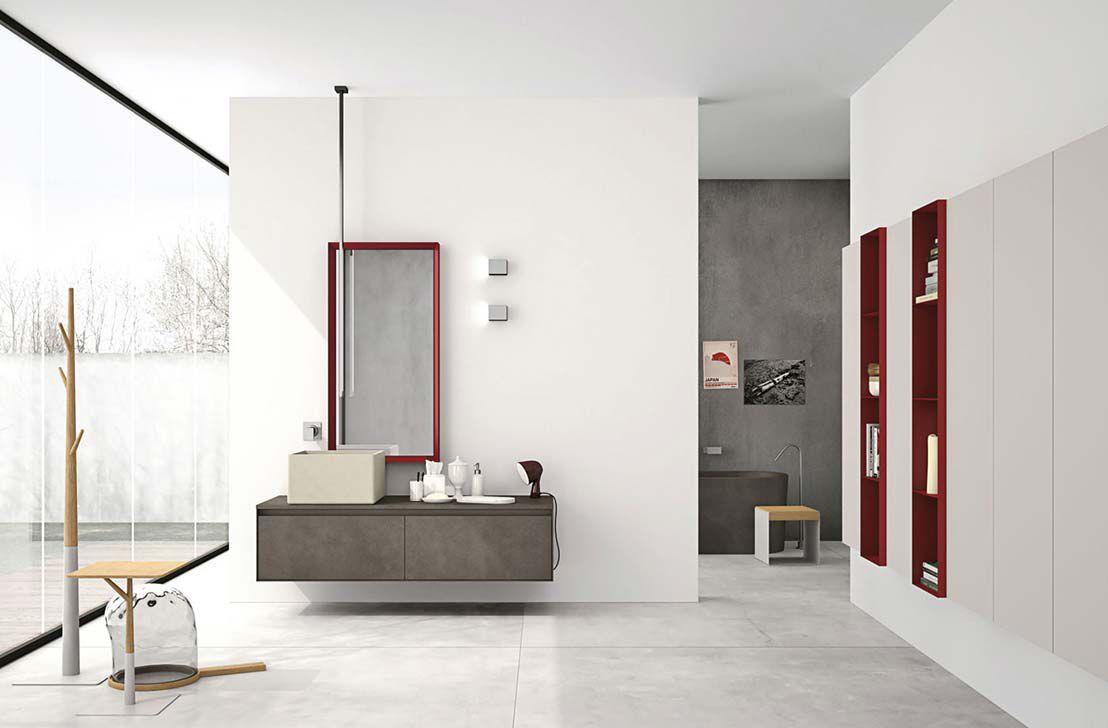 Mobile colonna da bagno moderno aria by willy dalto altamarea