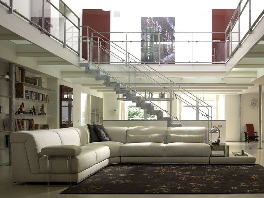 divano modulare / letto / moderno / in tessuto - joe by alesandro ... - Angolo Tessuto Divano Letto Milano
