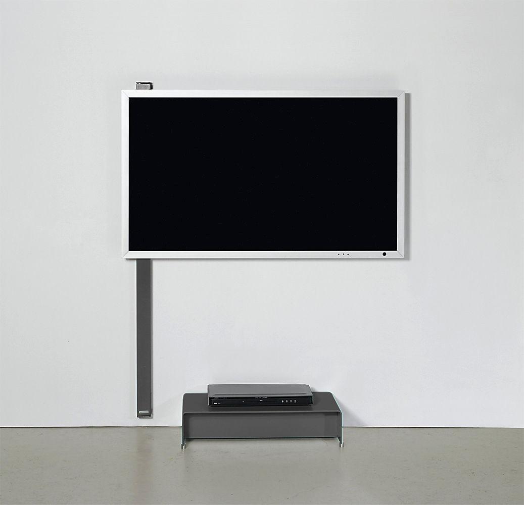 Supporto per TV da parete moderno / con supporto per lettore DVD ...