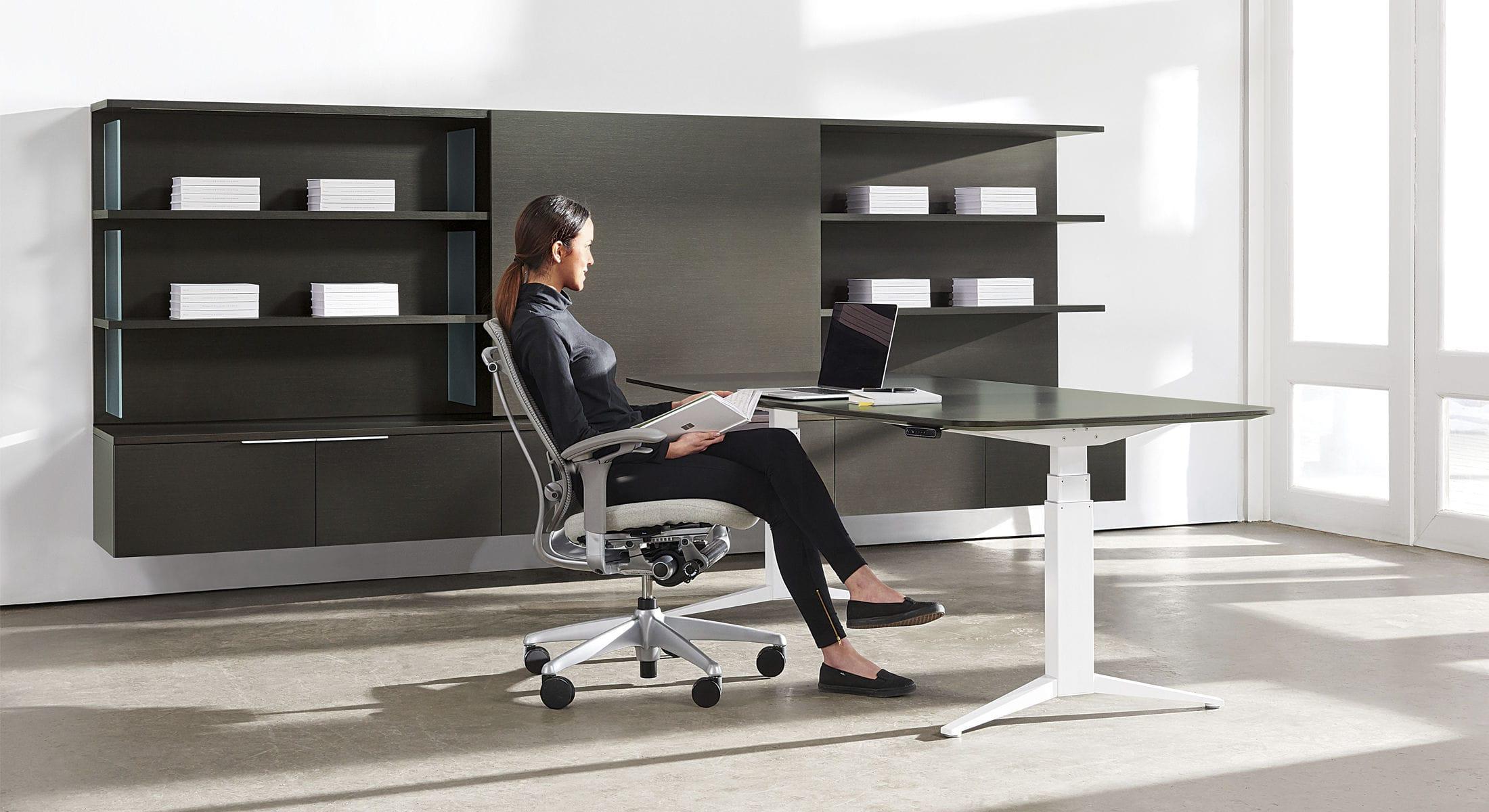 Mensole Per Ufficio : Mensola moderno in legno per ufficio journal teknion