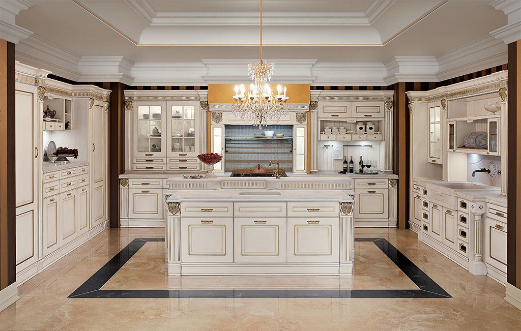 Cucina in stile / in frassino / con isola / ecologica - IMPERIAL ...