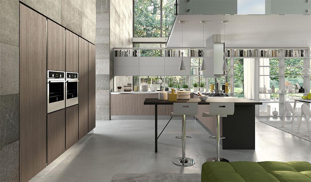 Cucina moderna / in alluminio / in vetro / in laminato - BIJOU ...