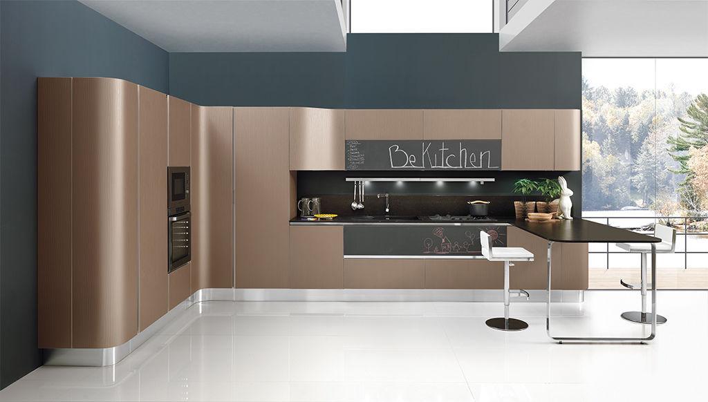Cucina moderna / in legno / in alluminio / in laminato - MIRÒ ...