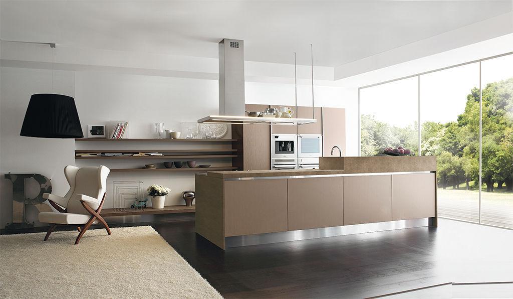 Cucina moderna / in alluminio / in laminato / con isola - PENELOPE ...