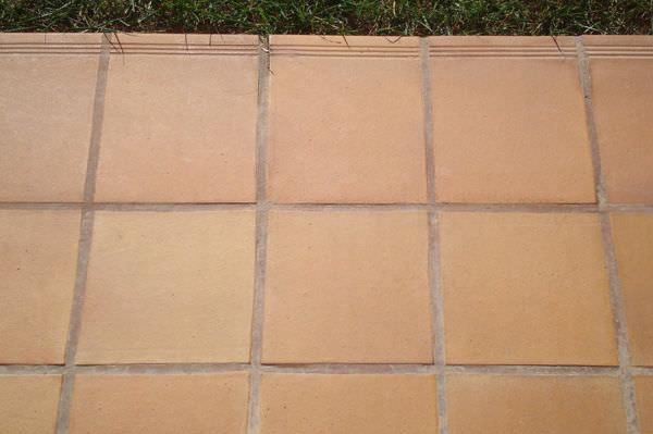 Piastrella da esterno per pavimento in clinker opaca la