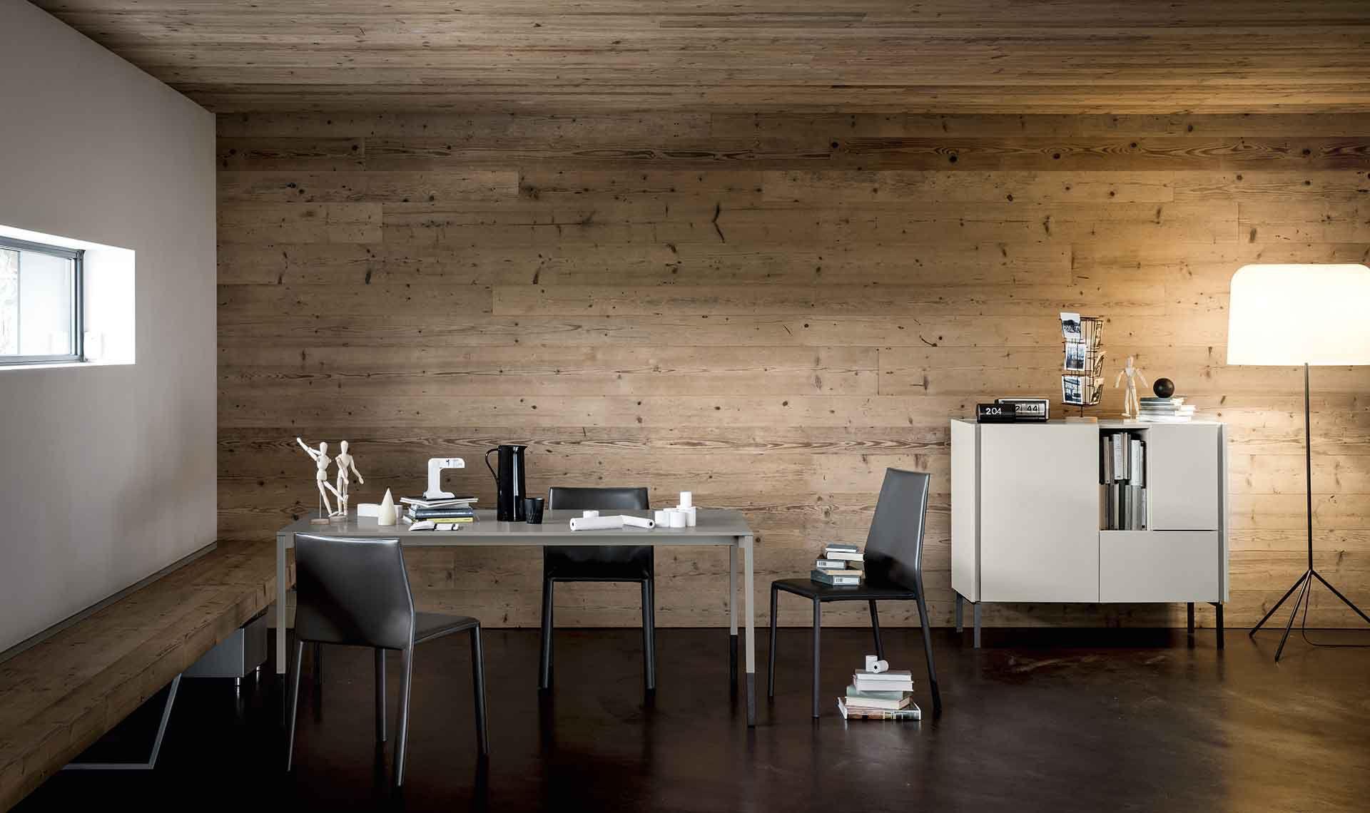 Credenza Da Muro : Credenza a muro moderna in legno laccato metallo da do