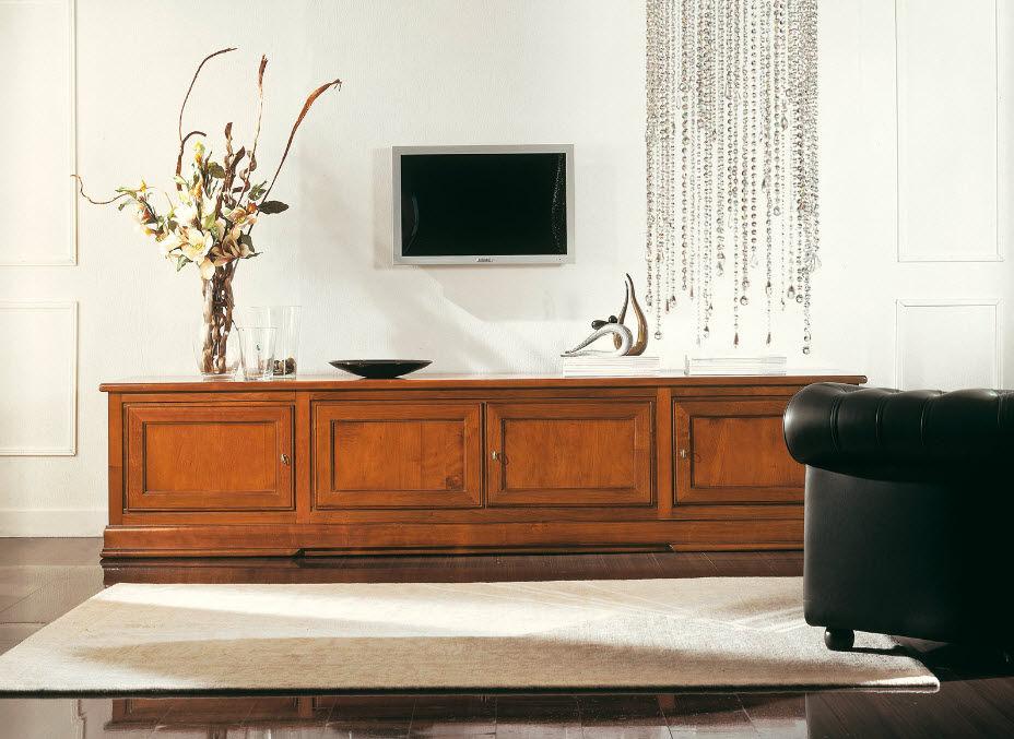 Mobile porta TV classico / in legno - ART.223/B - Arte Antiqua di ...