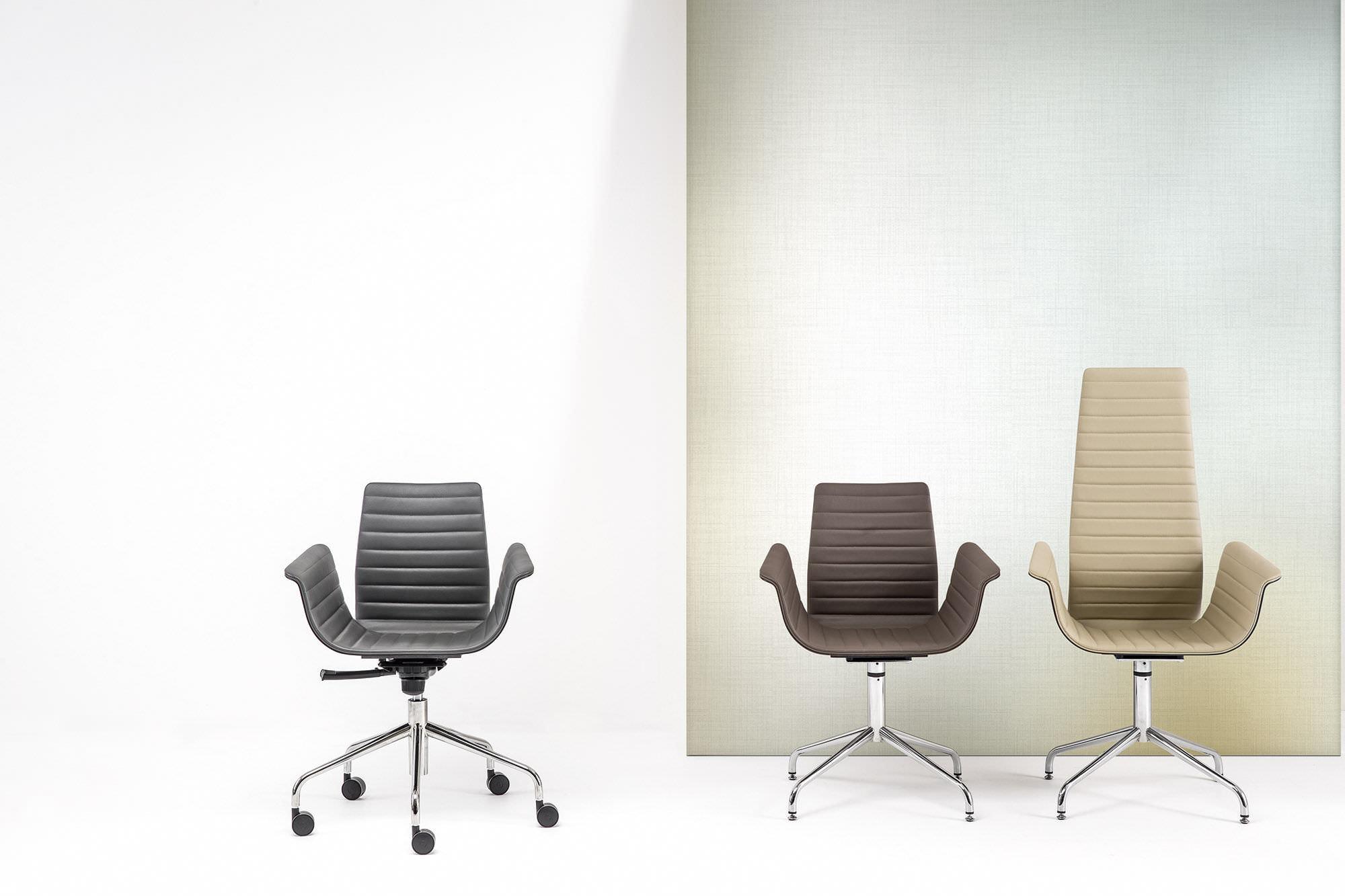 Sedie A Rotelle Schienale Alto : Idee di sedie con braccioli e schienale alto collezione sedia