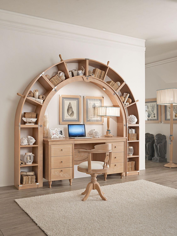 scrivanie per piccoli ambienti: camerette per ambienti piccoli ... - Scrivania In Legno Per Bambini