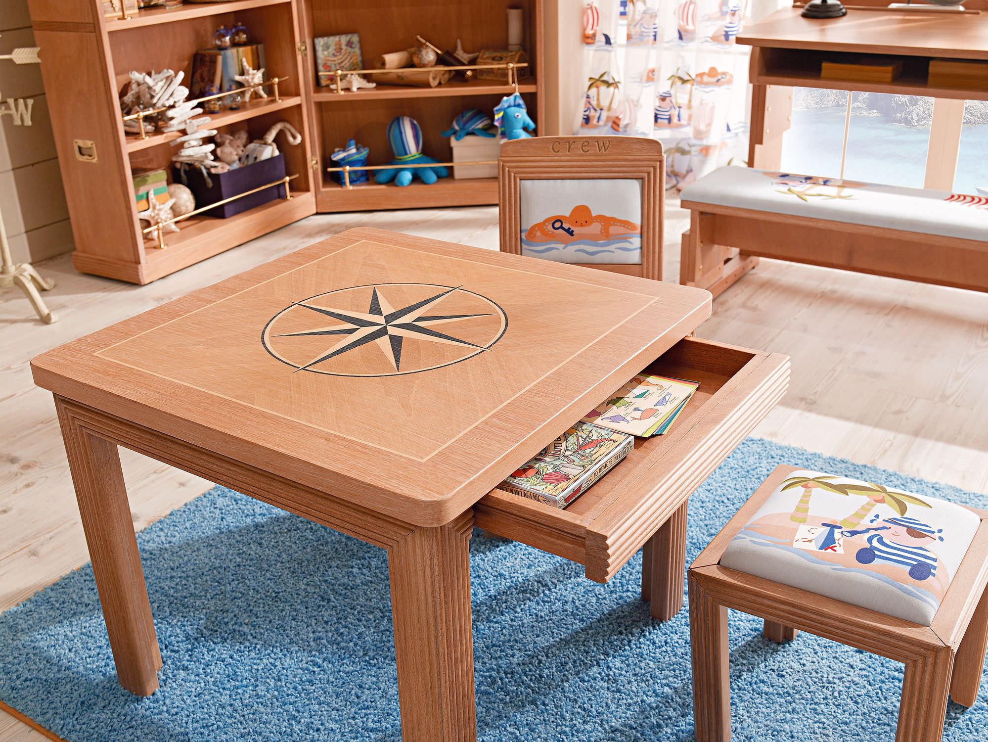 Sedia Per Scrivania Bambini: Set tavolo e sedia moderno in legno ...