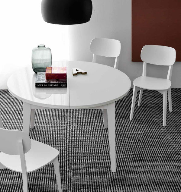 Tavolo rotondo / da interno / moderno / in faggio   pool   olivo ...
