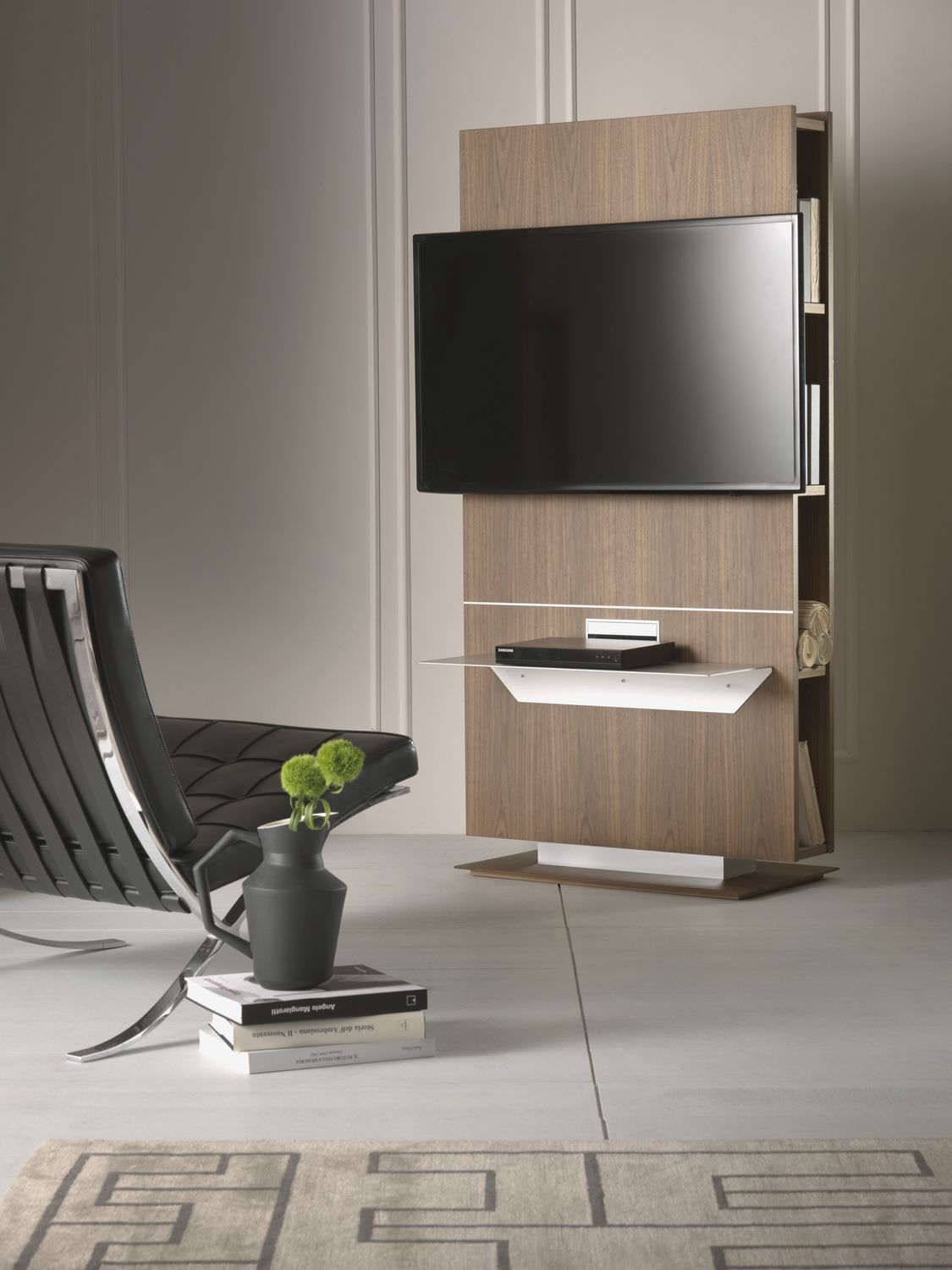 Supporto per TV da terra moderno - LOUNGE by Fabio Rebosio - Pacini ...