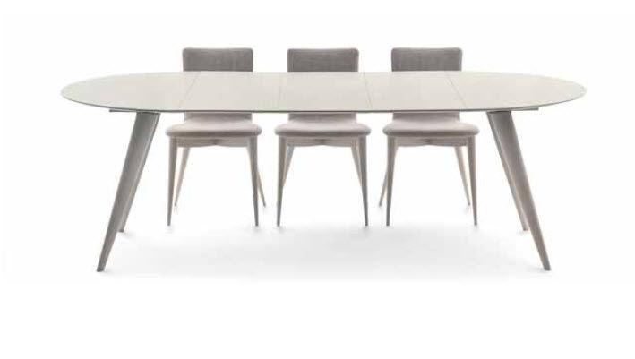 Tavolo moderno / in frassino / rotondo / allungabile - ELEGANCE ...