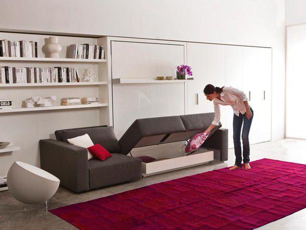Divano Letto A Castello Clei : Divano modulare letto moderno in tessuto swing by