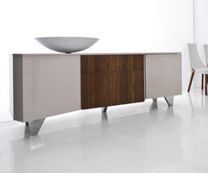 Credenza Moderna Laccata : Credenza moderna in legno laccato vanity compar