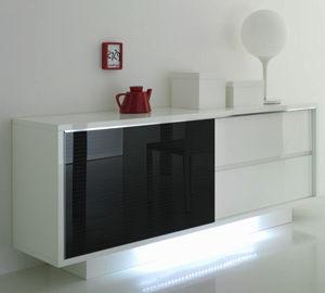 Credenza moderna / in legno / in legno laccato - PRINCESS - Compar