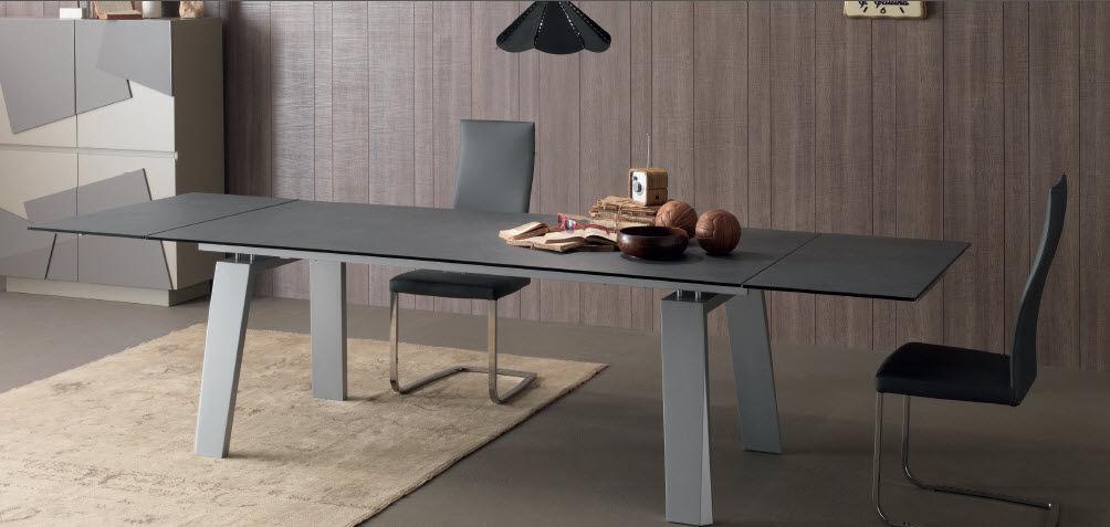 Tavolo moderno / in legno / rettangolare / allungabile - FRAU - Compar
