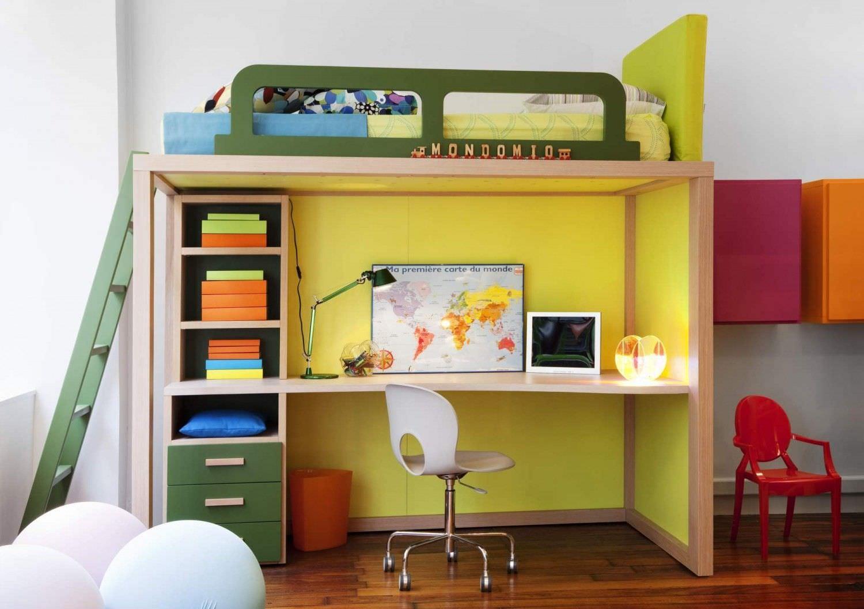 Letti a soppalco per bambini piccoli: mobili per bambini letto a ...