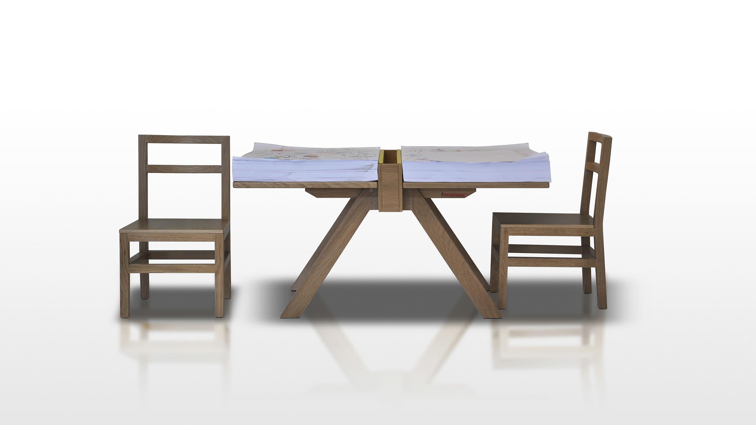 tavolo da disegno moderno / in legno massiccio / rettangolare ... - Tavolo Da Disegno Per Bambini