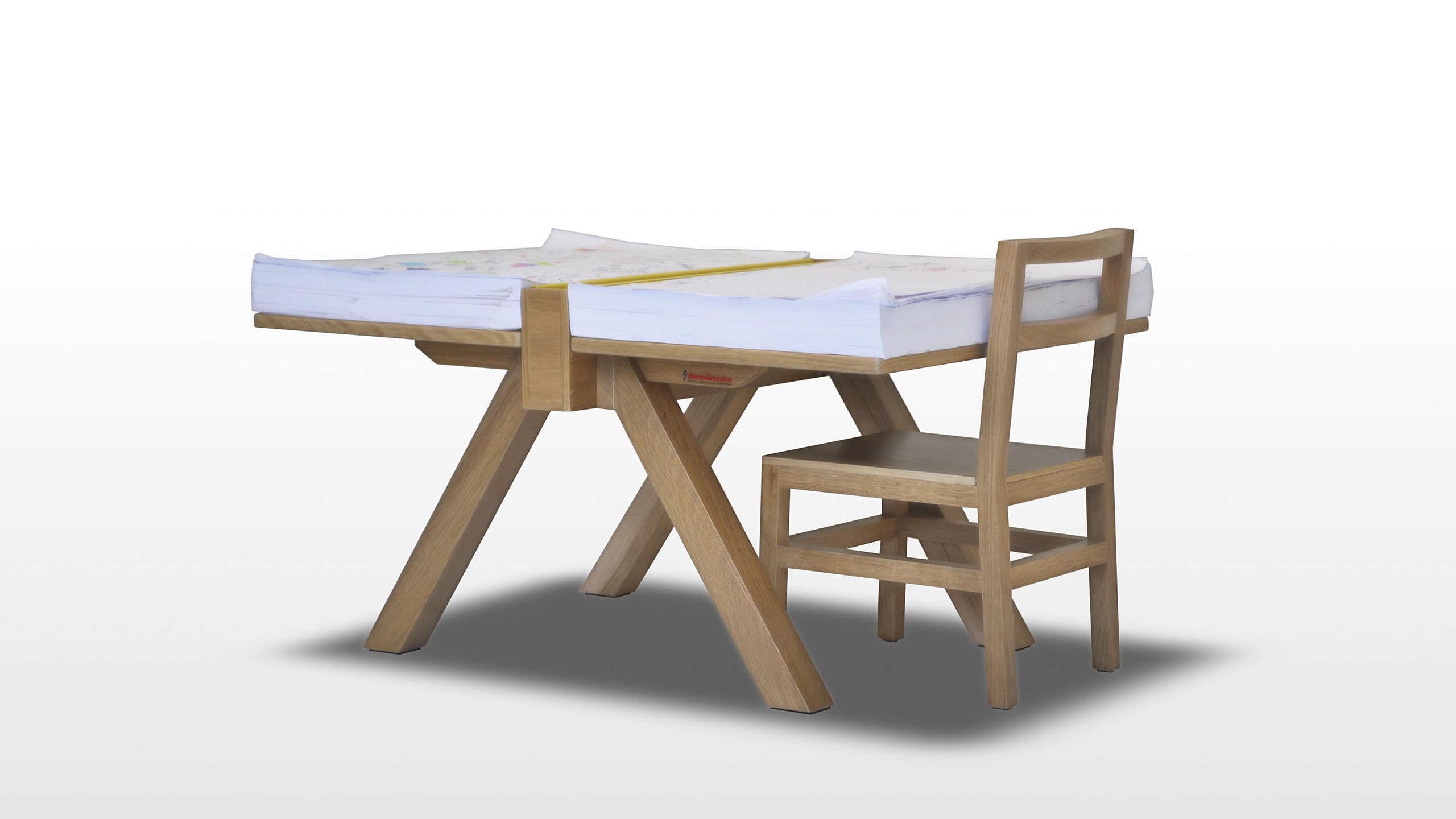 Scrivania Da Disegno : Tavolo da disegno moderno in legno massiccio rettangolare
