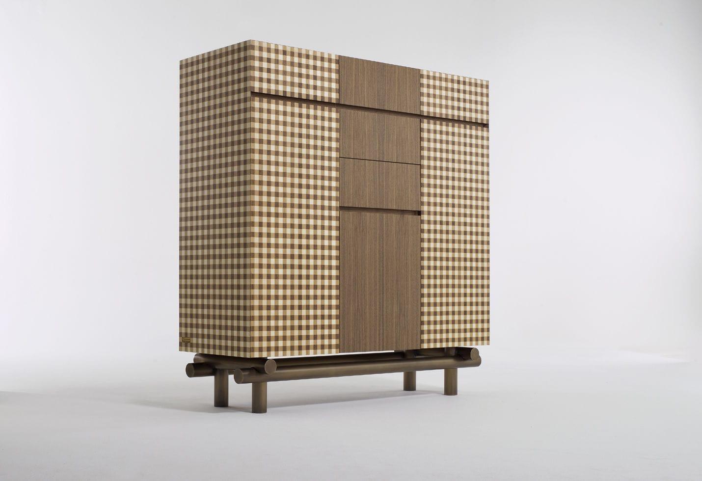 Credenza Rustica Prezzi : Credenza alta classica in legno di ferruccio laviani